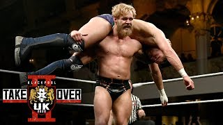 Tyler Bate hits a vicious DDT-Tyler Driver '97 combo: NXT TakeOver: Blackpool II (WWE Network)