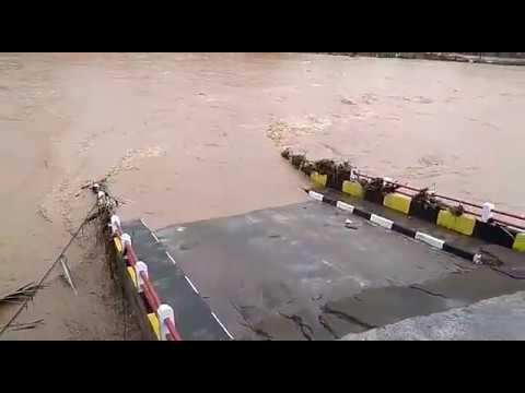 Jembatan Cipatujah Putus, Arus Lalin ke Pangandaran Terganggu