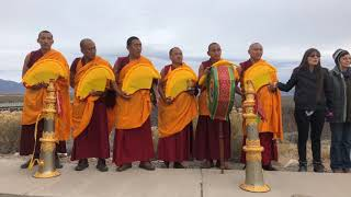 Drepung Loseling Monks | Taos, NM- Healing in A Conflicted World - Bridge Blessing