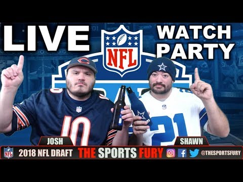2018 NFL Draft Live Watch Party | 1st Rd