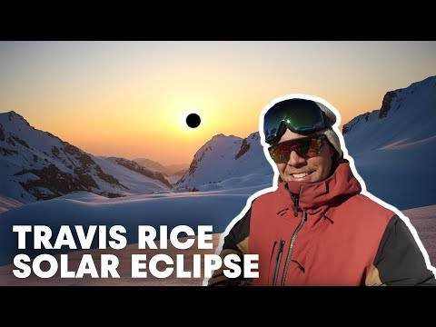 Watch: Travis Rice Journeys Down to Chile to Capture a Mid-Eclipse Kicker Session