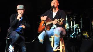 Nick Carter All American Tour NYC. Brian Littrell suprises fans singing I Want It That Way