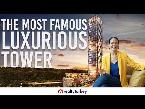 Luxury Real Estate Tour in Istanbul Turkey: Nurol Life