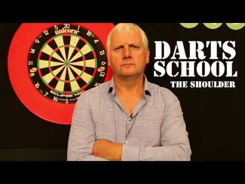 "LEARN HOW TO PLAY DARTS | Rod Harrington explains the ""shoulder"""