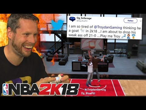 I got called out on NBA 2K18