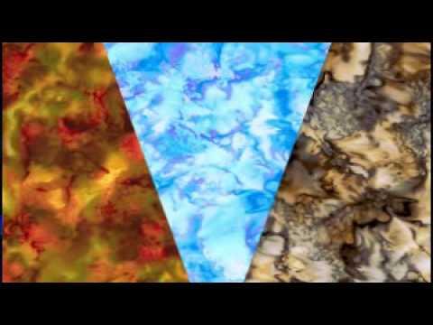 Avlyn Java Gems & Batik Cascade Fabric Collection
