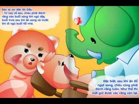 Kênh Thiếu Nhi-Gấu Con Bị Đau Răng-Truyện cho bé,truyện cổ tích