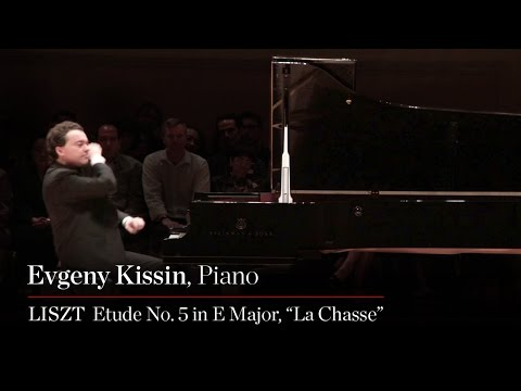 Evgeny Kissin Plays Liszt Etude No 5 in E Major, La Chasse