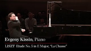 "Evgeny Kissin Plays Liszt Etude No. 5 in E Major, ""La Chasse"""
