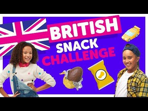 British Snack Challenge with Ahnya & Isaiah from The KIDZ BOP Kids