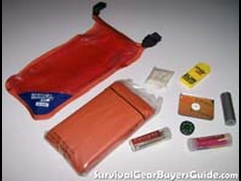 Adventure Medical Kits – S.O.L. – Survival Kit Review Part One