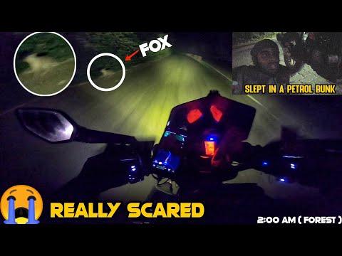 Scariest Ride In My Life 😭 - Goa To Arakkonam During Midnight | 910 Kms| Danger Side Of Motovlogging