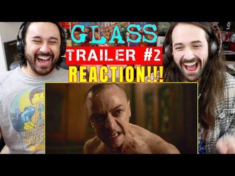 GLASS - Official TRAILER #2 - REACTION!!!