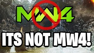 MW4 REVEALED TO BE COD: MODERN WARFARE! Call of Duty: Modern Warfare Is The Name of COD 2019!