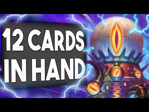 12 Cards IN HAND Is CHEATING! New Mecha'Thun Warlock   Descent Of Dragons   Hearthstone