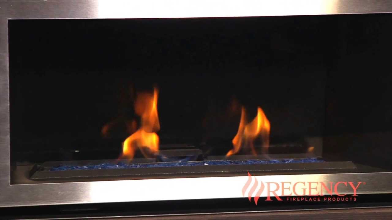 regency horizon hz30 small gas fireplace youtube