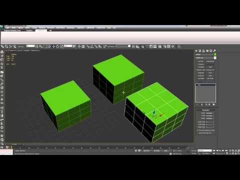 3D Modeling Tutorial #7 - Introduction to Modifiers and Sub-objects