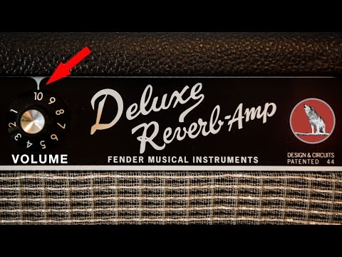 Fender Deluxe Reverb Cranked to 10!!
