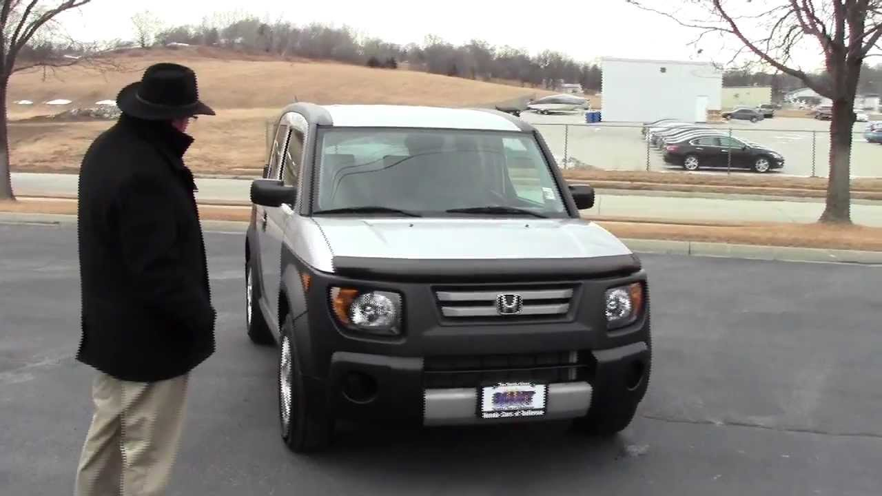 used 2008 honda element lx for sale at honda cars of bellevue an omaha honda dealer youtube. Black Bedroom Furniture Sets. Home Design Ideas