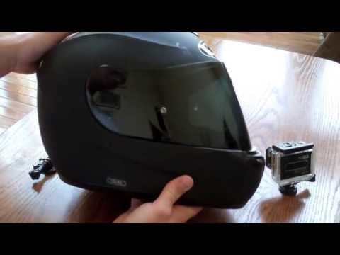 Mounting a GoPro to Motorcycle Helmet - Part 1