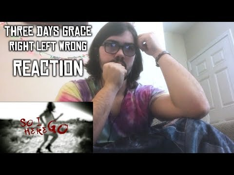 Three Days Grace - Right Left Wrong Track Reaction and Review