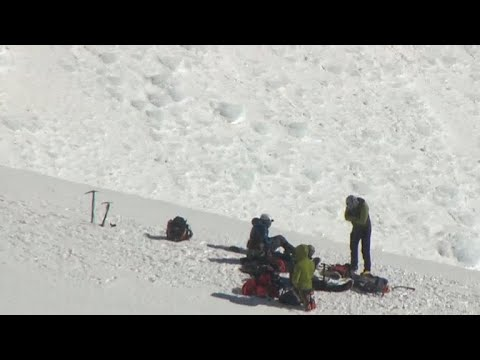 Dramatic rescue effort on Oregon's Mt. Hood