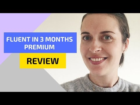 Fluent in 3 Months Premium review (Benny Lewis course review)