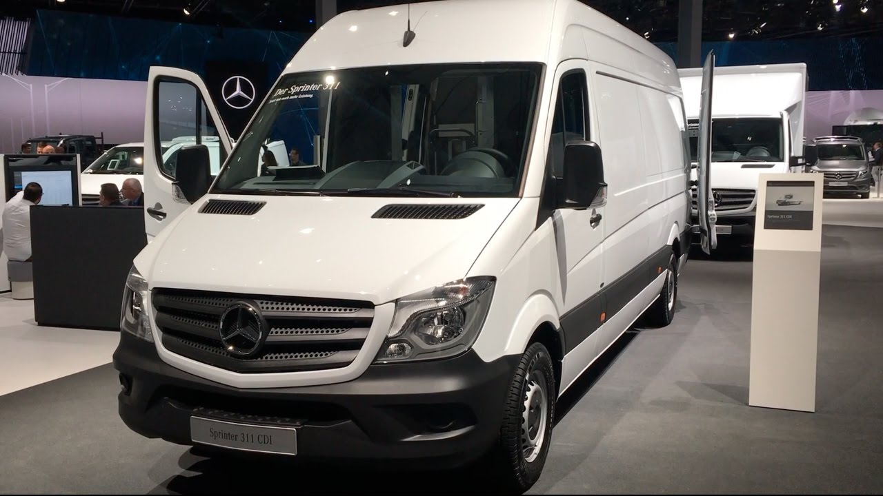 Mercedes benz sprinter 311 cdi 2017 in detail review for Mercedes benz sprinter 2017