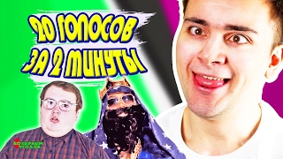 ПАРОДИИ НА ГОЛОСА / Видеоблогеры #2!