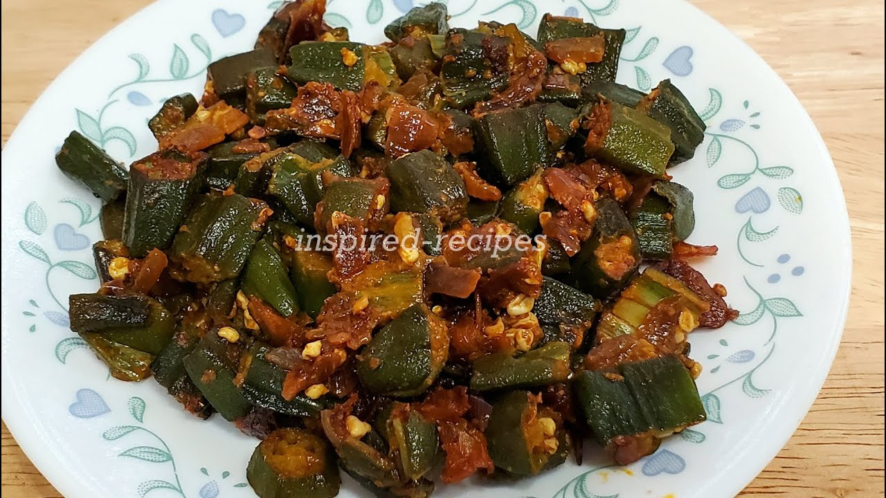 Masala Bhindi Frozen Okra Non Slimy Quick And Easy Bhindi Masala Youtube