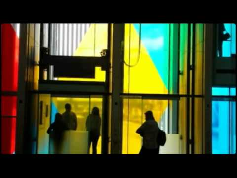 Daniel Buren Exhibition at Baltic in Newcastle upon Tyne