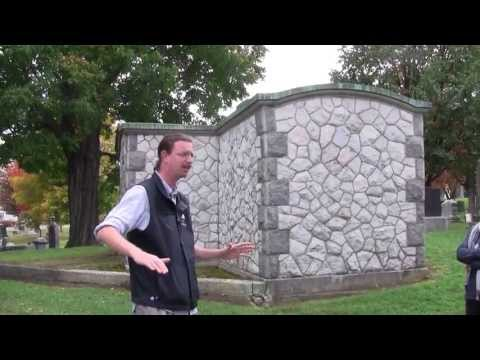 James Upham - Elmwood Cemetery Tour - Doors Open 2013