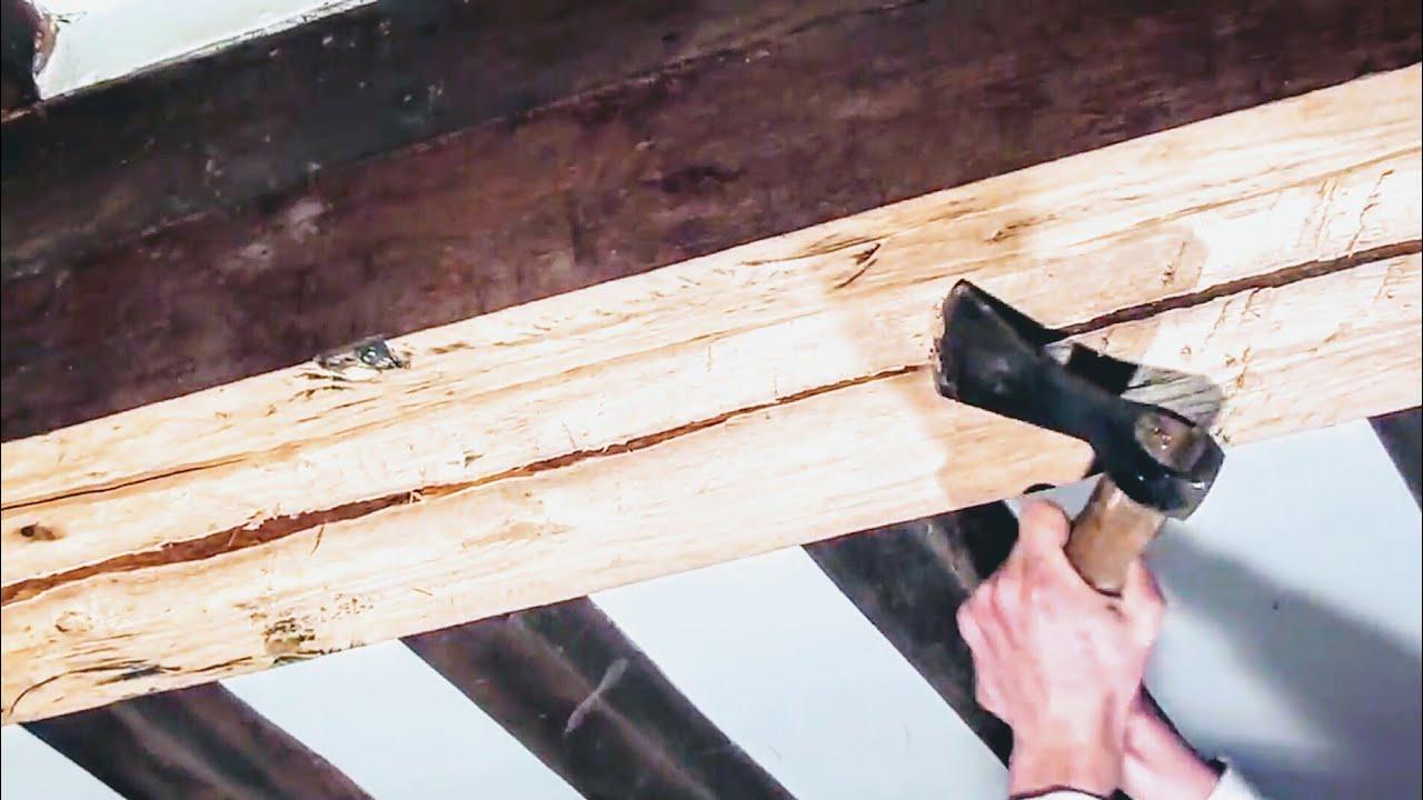 Ponceuse Pour Poutre Bois travail du bois- rabotage poutre principale