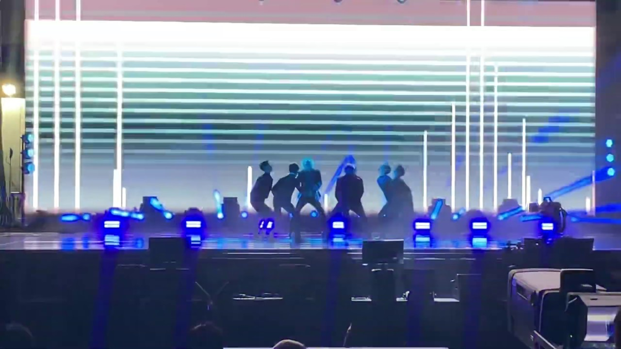 [191005 FANCAM] SuperM - I Can't Stand the Rain Live @ Capitol Records in Hollywood