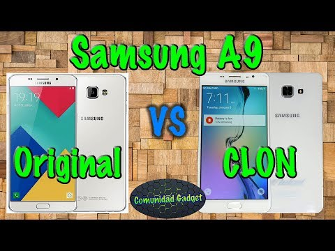 Samsung A9 CLON aprende a identificarlo no te dejes engañar!!!