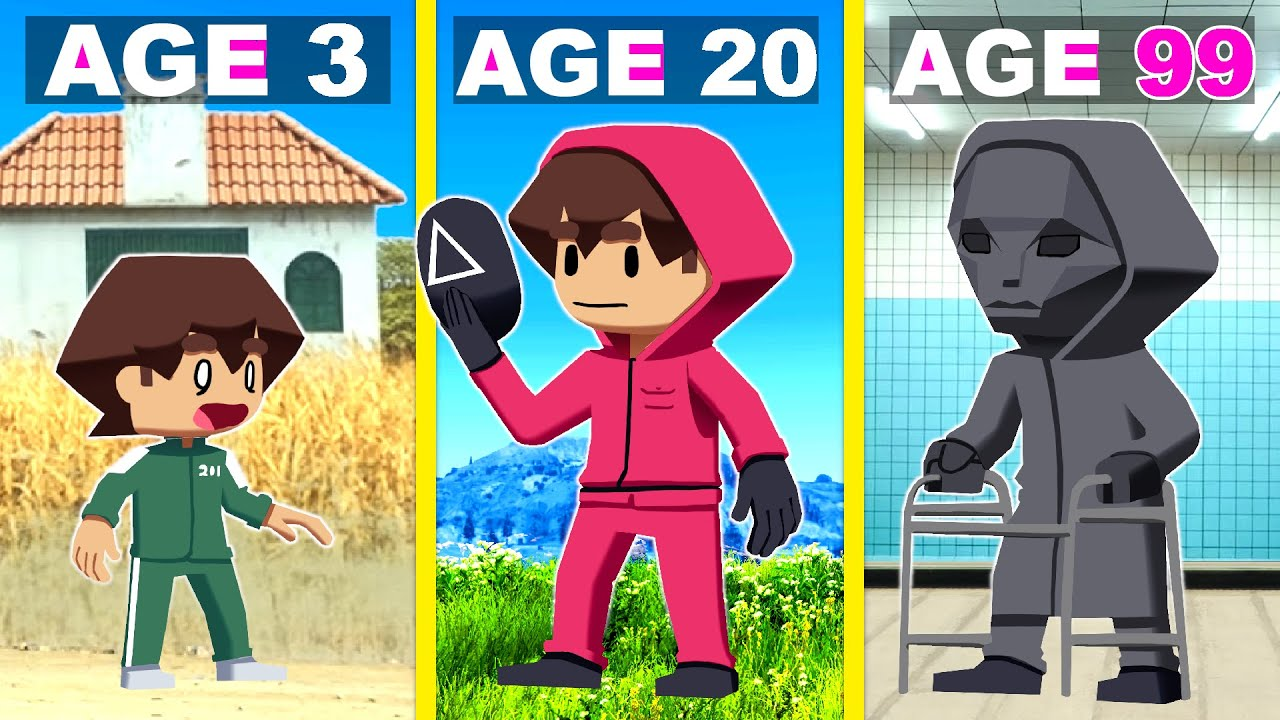 Download Surviving 99 Years In SQUID GAME In GTA 5!