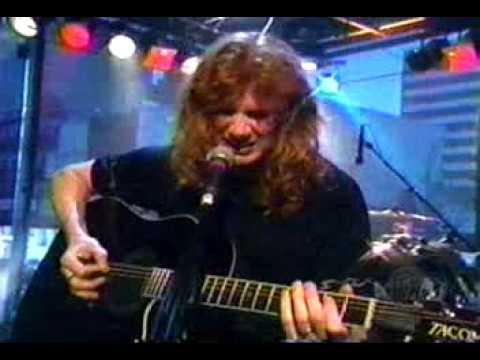 Megadeth  She Wolf unplugged