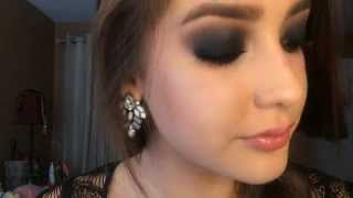 Black Smokey Eye Look! Thumbnail