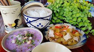Dưa mắm trộn thịt ba rọi món ngon quê nhà | Cơm Mẹ Nấu