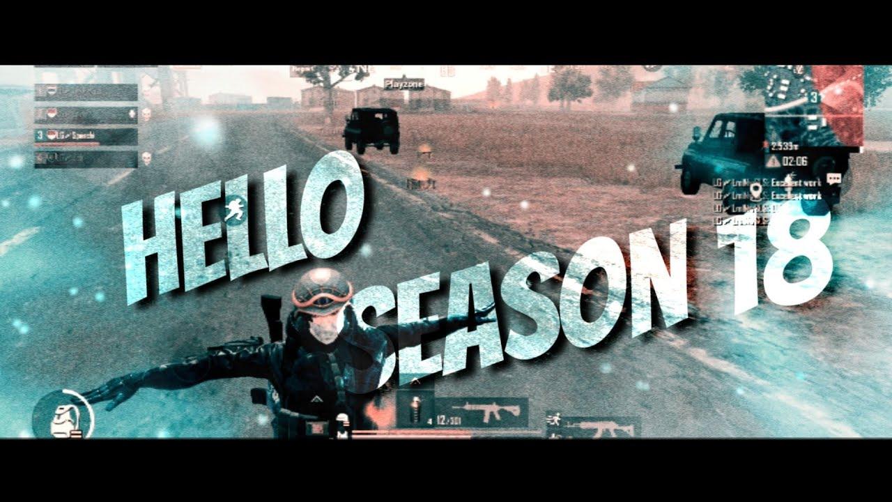 Hello Season18 ✨✨✨ | Speedy PUBGMobile