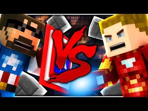 Minecraft: CAPTAIN SSUNDEE VS IRON CRAINER