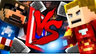 Minecraft: CAPTAIN SSUNDEE VS IRON CRAINER