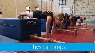 Physical preps on parallettes
