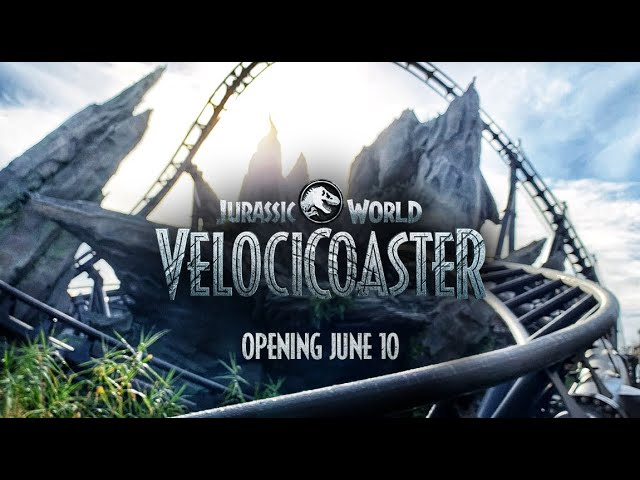 Brave the Hunt on the Jurassic World VelociCoaster