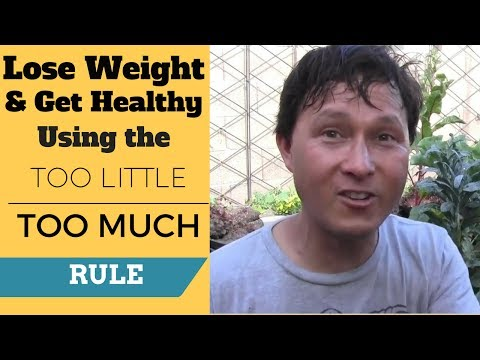Lose Weight & Get Healthy using the Too Little, Too Much Rule