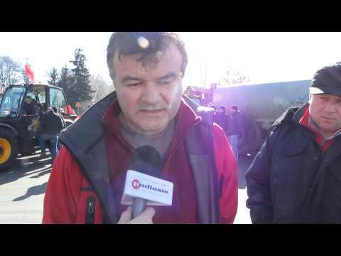 Protest rolników - Łosice (2)