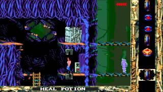 Blackthorne Gameplay - MS-DOS / PC (1994) - Level 7 (XJSN)