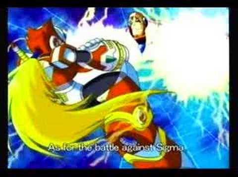 Mega Man X6 Intro