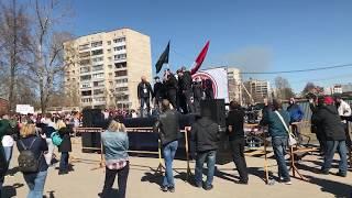 Митинг Серпухов | ТБО Лесная