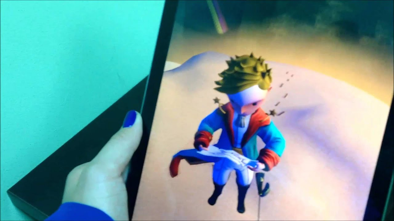 The Little Prince In Augmented Reality From DEVAR